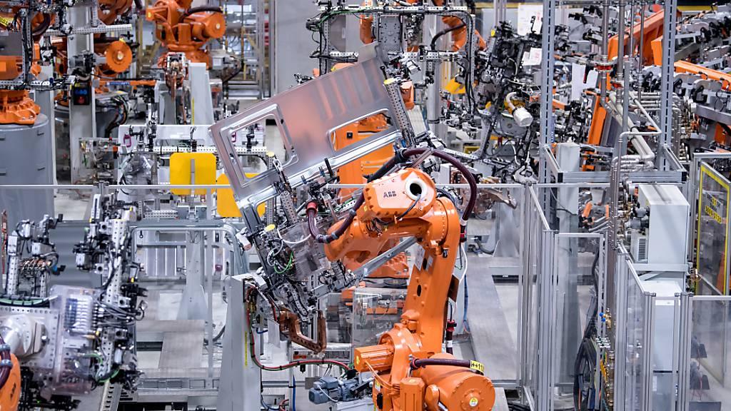ABB-Roboter für weltweit grösste Scooter-Fabrik in Indien (Symbolbild)