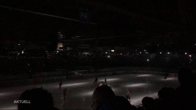 Stromausfall bei Eishockey-Derby in Olten