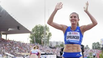 Lea Sprunger verpasste in Lausanne den Schweizer Rekord über 400 m Hürden nur knapp und wurde Zweite.