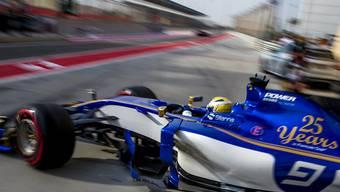Marcus Ericsson absolvierte im Sauber nicht weniger als 106 Runden