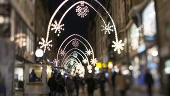 Weihnachtsbeleuchtung Freie Strasse