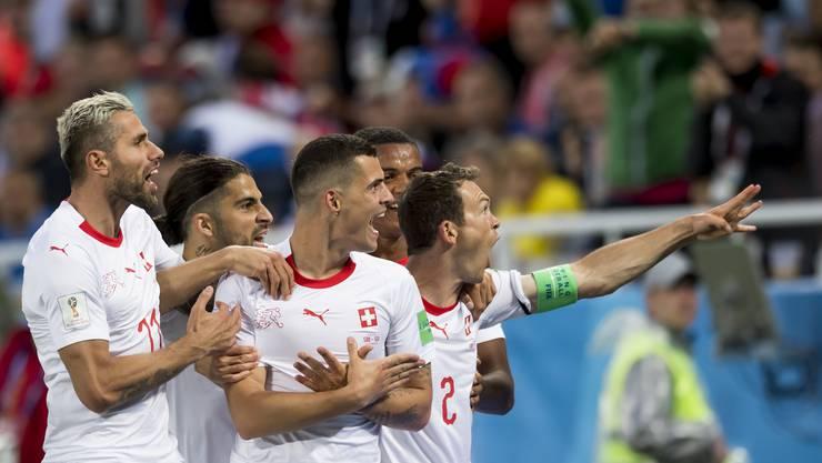 Die Doppeladler-Gesten sorgten an der WM für Aufregung.