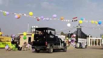 Irakische Sicherheitskräfte bei Camp Aschraf(Archiv)