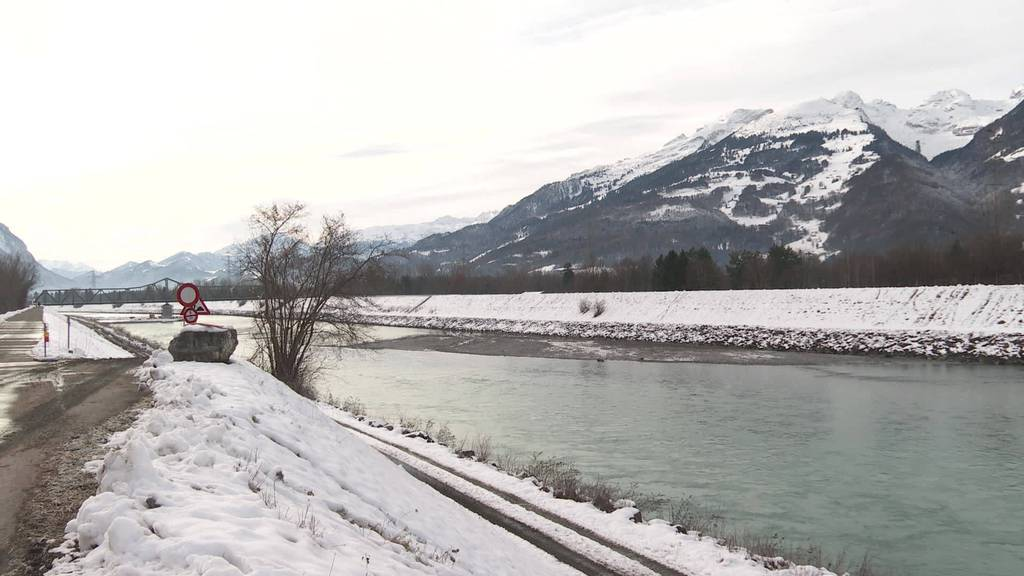 Wegen Bruchgefahr: Regierung saniert den Rheindamm