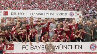 Bayern München jubelt: Das schlechte Abschneiden der Nationalmannschaft an der WM dürfte keinen negativen Einfluss auf die Zuschauerzahlen in der Bundesliga haben