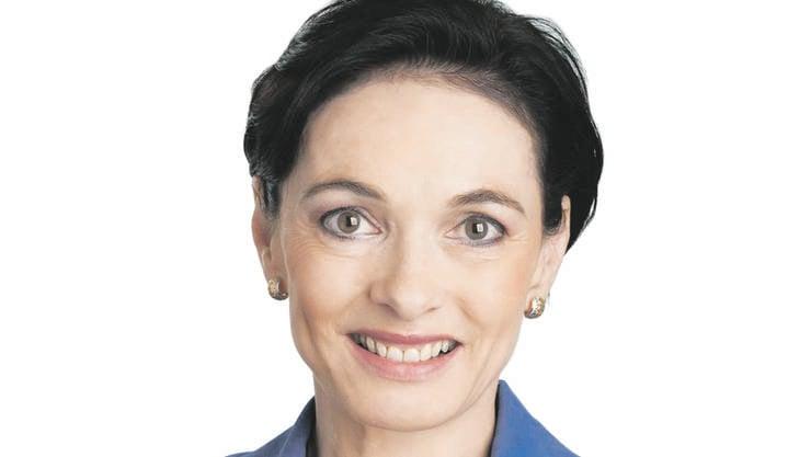 Marianne Binder-Keller aus Baden wird von der Parteileitung der CVP Aargau einstimmig als Präsidentin empfohlen.