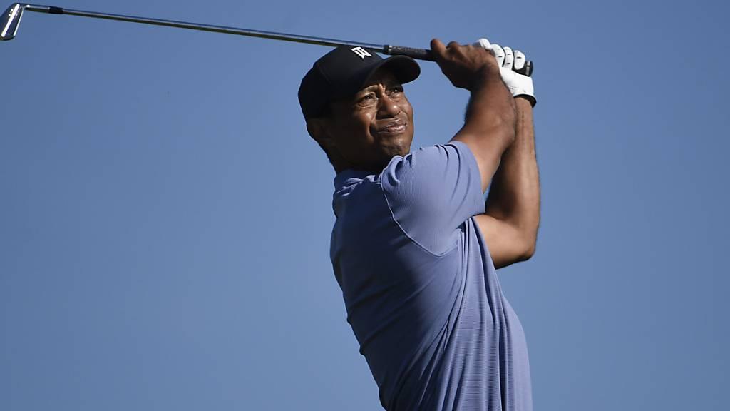 Tiger Woods in der Sonne von Südkalifornien.