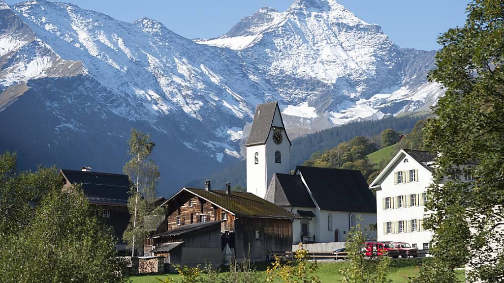 In den Glarner Alpen nahe Elm hat in den letzten Tagen die Erde gebebt. (Archivbild)