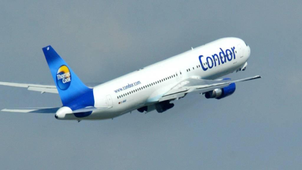Der zum insolventen Thomas Cook-Konzern gehörende deutsche Ferienflieger spürt Aufwind. (Archivvild)