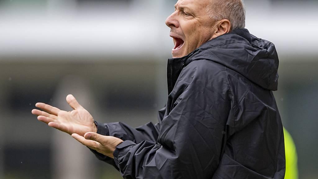 Der Liga-Einstand von Davide Morandi als Trainer des SC Kriens verzögert sich