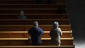Damit der Kirchenbesuch trotz Coronavirus wieder möglich wird: Die Schweizer Bischofskonferenz hat ein Schutzkonzept für Gottesdienste erlassen. (Symbolbild)