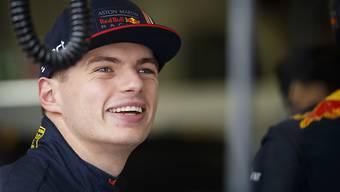 Max Verstappen hat nach seinem Sieg gut lachen