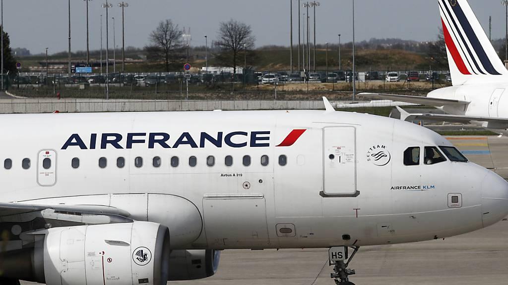 Air France fliegt weiterhin einmal täglich nach Zürich und Genf
