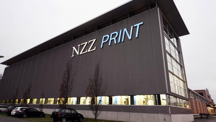 NZZ-Druckerei in Schlieren wird im Juni geschlossen.