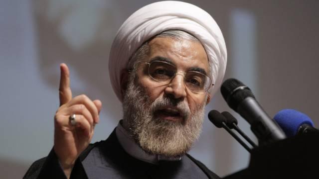 Der designierte iranische Präsident Hassan Rohani (Archiv)