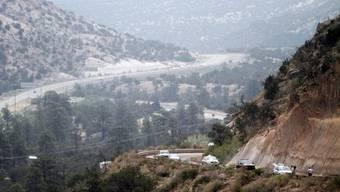Die Bewohner kehren in ihre Häuser in Los Alamos zurück