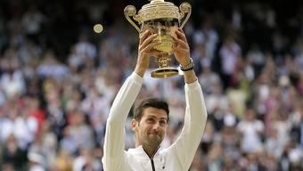 Braucht nach seinem physisch und mental kräftezehrenden Triumph in Wimbledon eine längere Pause: die Weltnummer 1 Novak Djokovic