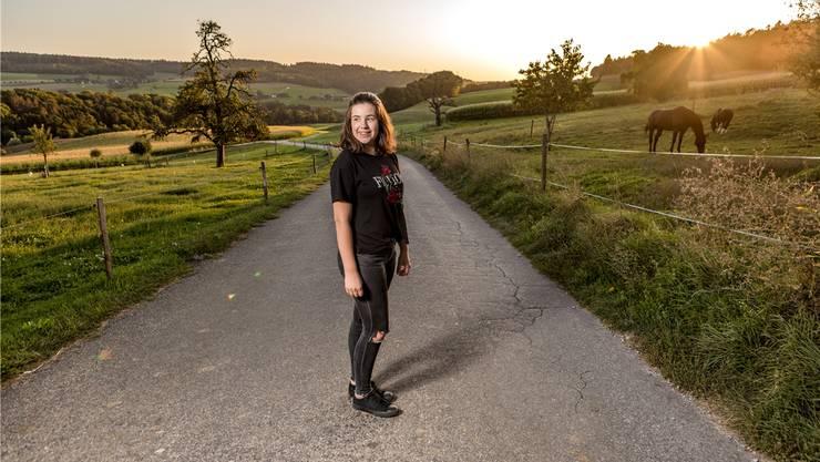 Die 16-Jährige wohnt in Vogelsang bei Lengnau.