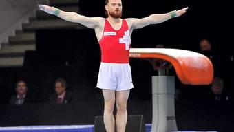 Benjamin Gischard holte für das dezimierte Schweizer Team in Stettin die Kohlen aus dem Feuer; eine EM-Medaille blieb dem Berner aber verwehrt