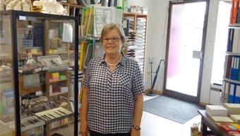 Verena Mohr im Geschäft an der Kirchstrasse.