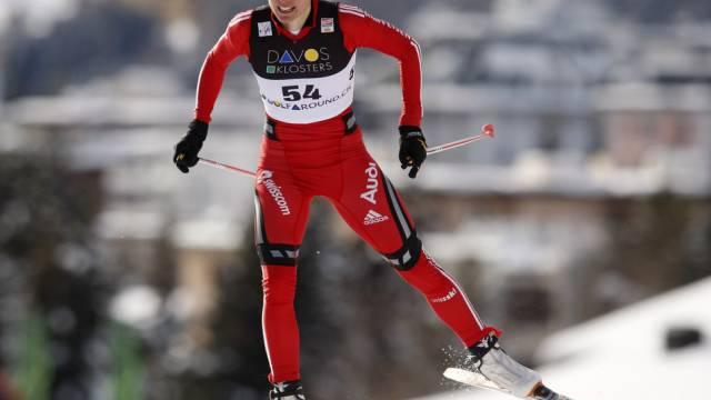 Laurence Rochat bei ihrem Weltcup-Einsatz im Dezember 2008 in Davos