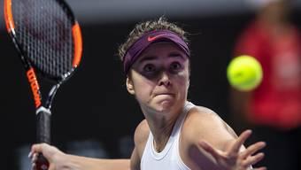 Die Titelverteidigerin Jelina Switolina steht vorzeitig in den Halbfinals