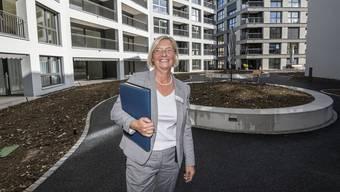 Eva Müggenburg, Chefin des Rebgarten Liestal, kann sich über den Geschäftsverlauf freuen.