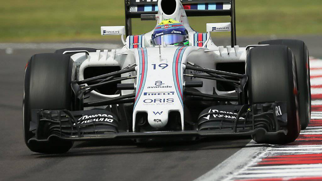 Lance Stroll ersetzt bei Williams Felipe Massa (im Bild)