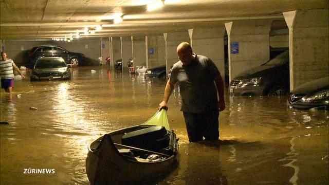 20 Millionen Franken Schaden nach Unwetter in Zürich