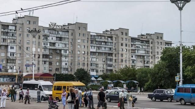 Tiraspol, die Hauptstadt der abtrünnigen Teilrepublik Transnistrien