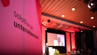 Am Mittwoch, 8. Januar 2020, findet die Verleihung des Solothurner Unternehmerpreises statt.