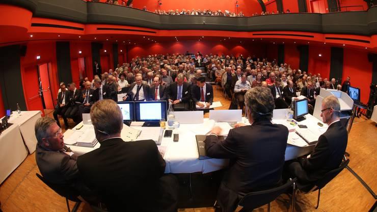 Mitglieder des Verwaltungsrats und CEO standen an der GV den Aktionären Red und Antwort.