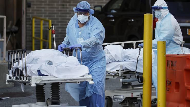 Die USA verzeichnen an nur einem Tag neue Rekordwert bei den Coronavirus-Todesopfern.
