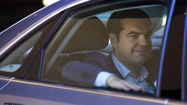 Der griechische Premierminister Alexis Tsipras ist seit Tagen in Brüssel, wo er neue Reformvorschläge präsentieren soll.