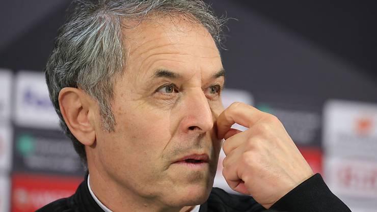 Marcel Koller will dafür sorgen, dass sich die Unruhen in Basel nicht negativ auf die Mannschaft auswirken.