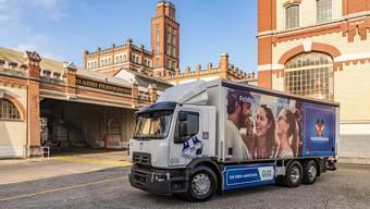 Den ersten Truck hat Feldschlösschen am 24. November erhalten.