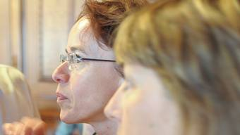 Eva Herzog (l.) möchte rasch ein neues BKB-Gesetz, Sominique König (r.) die Einhaltung des alten Gesetzes.