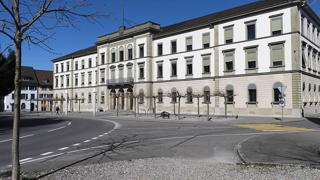 Das Thurgauer Regierungsgebäude in Frauenfeld. (Archivbild)