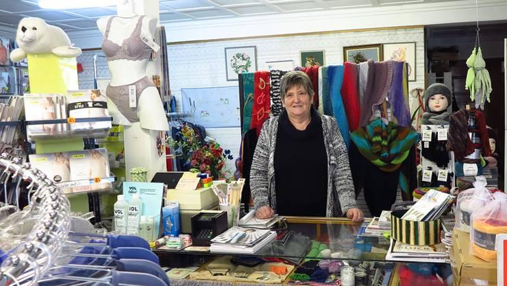 Seit 1976 berät Ruth Hauser ihre Kunden im «Wolle-Hus 22».