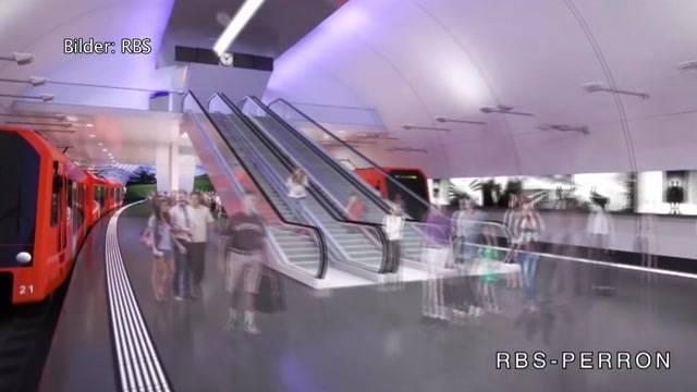 Monster-Umbau des Berner Bahnhofs nimmt Gestalt an