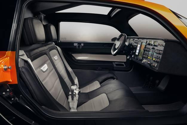 Gemäss PAL-V wird im Innenraum nur hochwertigstes Leder verwendet.
