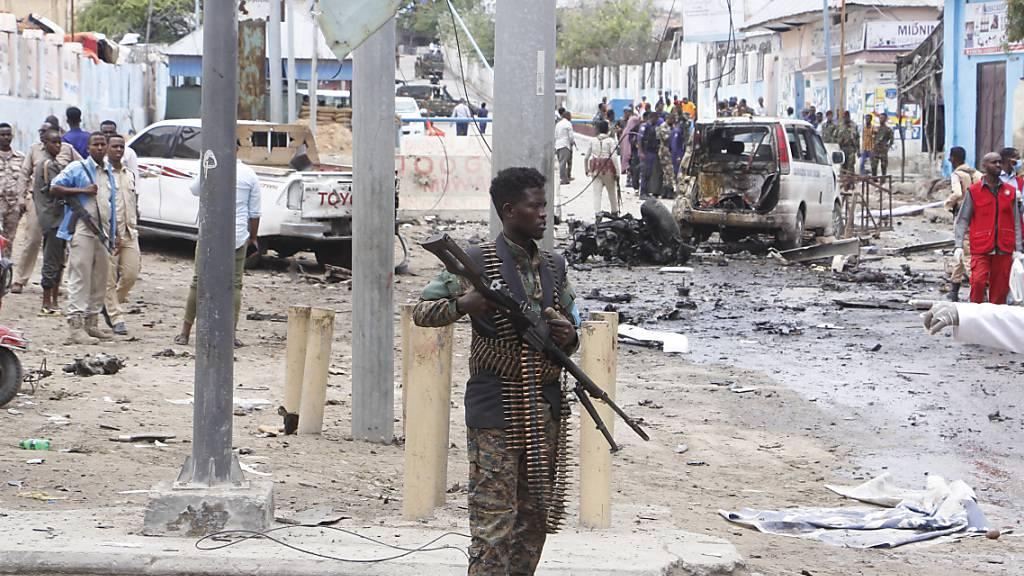 Somalia: Mindestens 15 Tote bei Al-Shabaab-Anschlag in Mogadishu