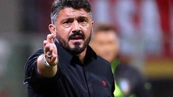 Milans Coach Gennaro Gattuso legte sich am Sonntag mit Italiens Innenminister Matteo Salvini an