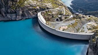 Das Pumpspeicherkraftwerk Nant de Drance im Kanton Wallis.