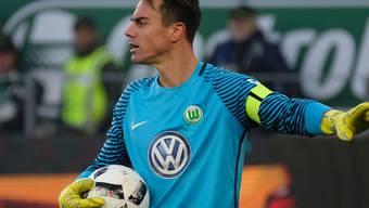 Diego Benaglio kehrte wieder ins Tor des VfL Wolfsburg zurück