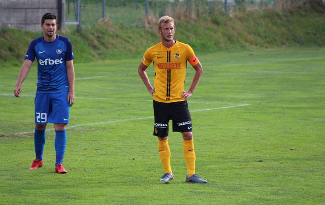 Und gleich Captain: Fabian Lustenberger, BSC Young Boys.