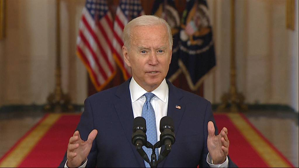 «Ich wollte diesen Krieg nicht ewig verlängern»: Joe Biden verteidigt Truppenabzug aus Afghanistan