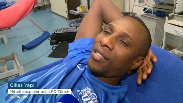 FCZ-Star Gilles Yapi auf dem Weg zur Besserung