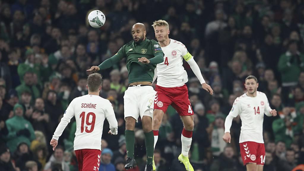 Dänemark sichert sich in Dublin die EM-Teilnahme
