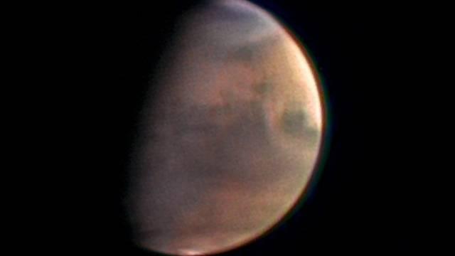 Ziel der russischen und europäischen Raumfahrt: Der Mars (Archiv)